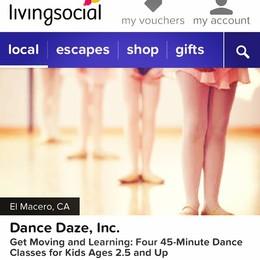 Dance Daze LivingSocial